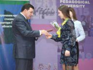Ольга Конюк и министр образования