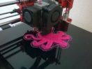 Печать модели с широкой опорой